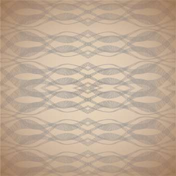 Vector waves abstract brown color background - vector #126444 gratis