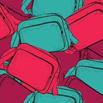 Vector background of female colorful bags - vector #127044 gratis