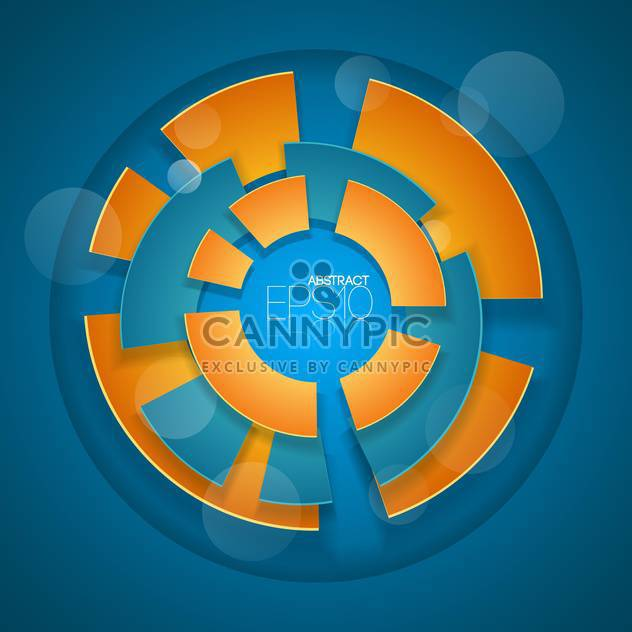 Abstract vector blur color background - Free vector #127644