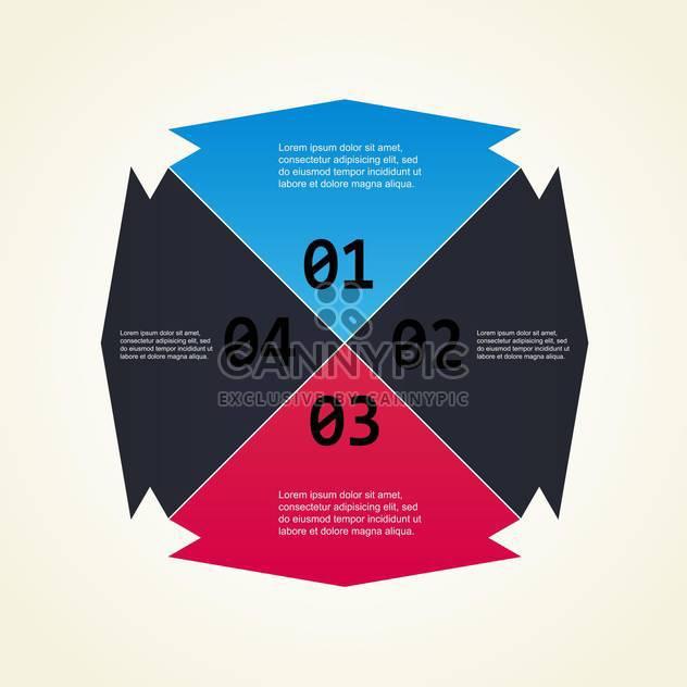 Nummerierung Farben Vektor Hintergrund mit Beispieltext - Kostenloses vector #128584