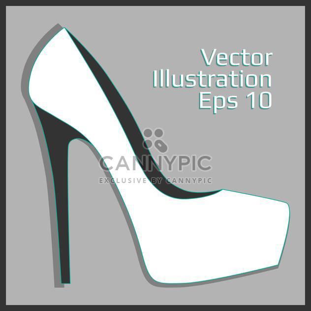 Mode Frauen Leder Ferse - Kostenloses vector #129144