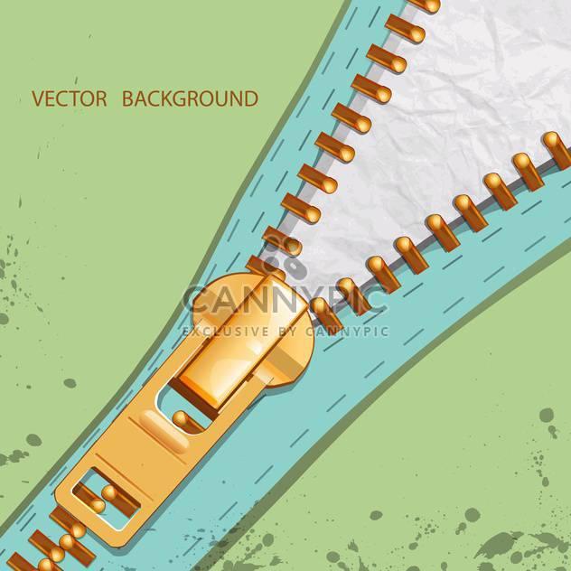 Vektor-Hintergrund mit Reißverschluss-illustration - Kostenloses vector #129244