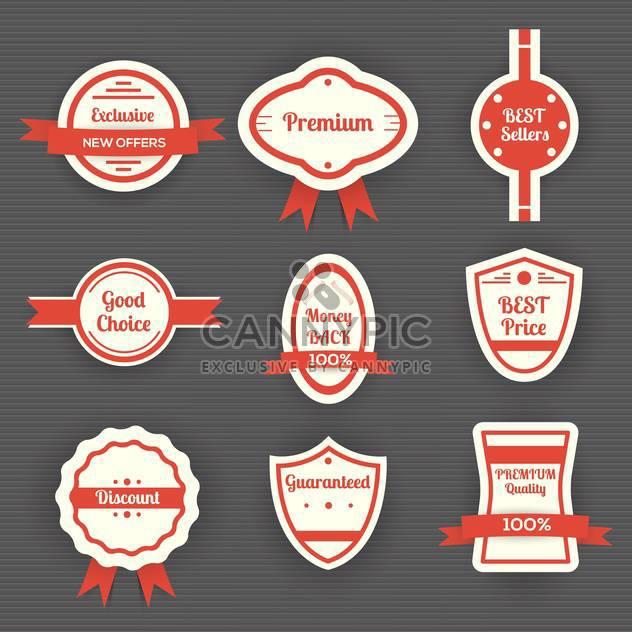 set of vector sale labels - Free vector #130354
