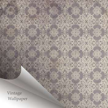 Vector wallpaper design with folded corner - Free vector #130854