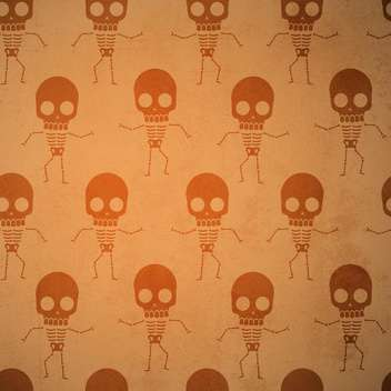 Vector background with skeletons. - vector gratuit #131224