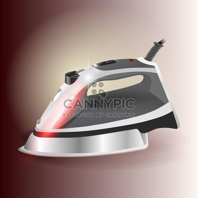 Moredn shiny iron vector illustration - Free vector #131264