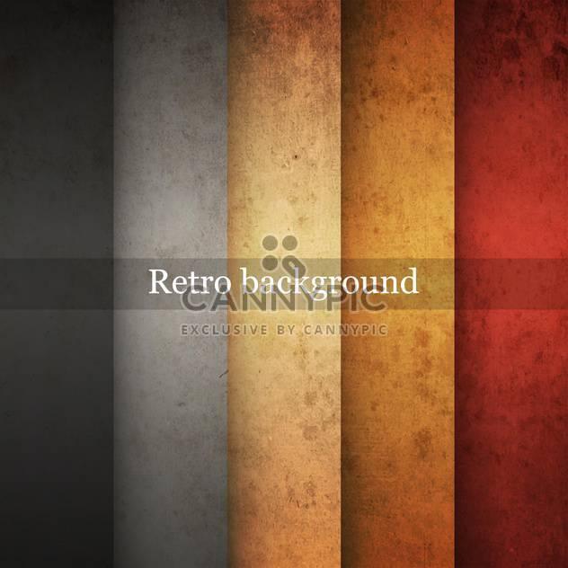 Vector vintage striped grunge background - Free vector #131664