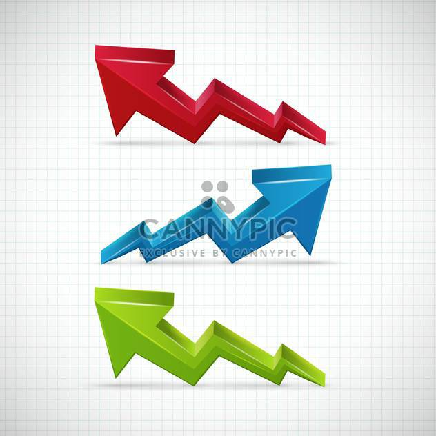 Success graphic arrows vector Illustration - Free vector #131884