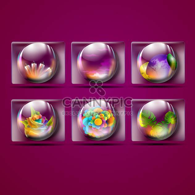 natürliche Hellseherei Kristallkugeln - Kostenloses vector #132614