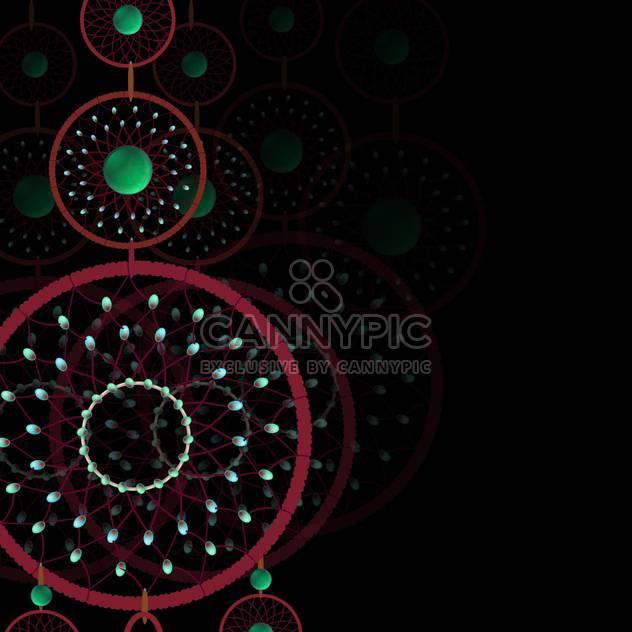 Vektor Dekoration dunklen Hintergrund - Kostenloses vector #132644