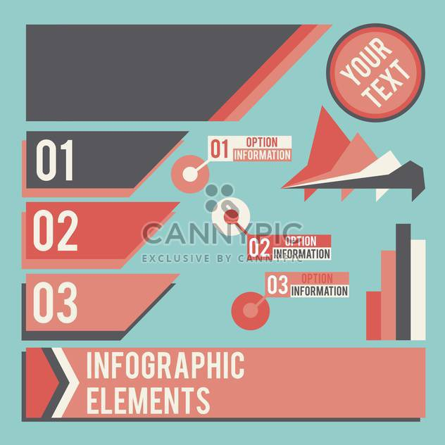 business infographic elements set - Free vector #133014