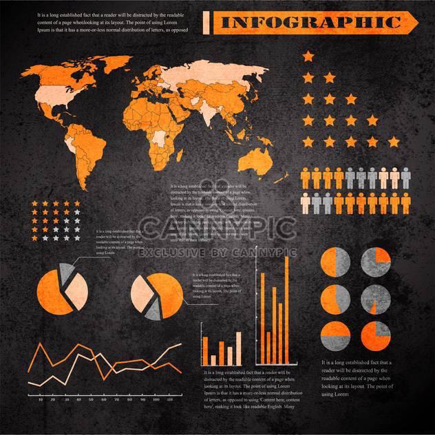 Geschäft Infographik Elemente festlegen - Kostenloses vector #133284