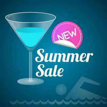 summer sale and shopping background - vector gratuit #133714