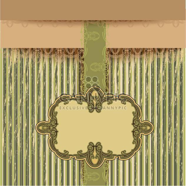 Retro abstract Gruß Hintergrund - Free vector #133874