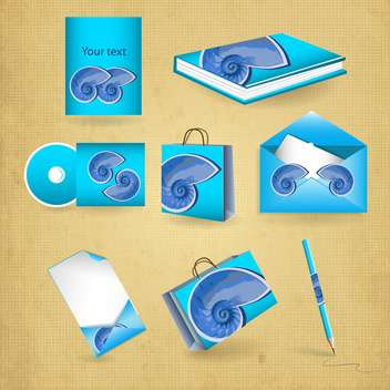 selected corporate templates background - Free vector #133964