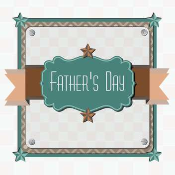 father's day card background - vector gratuit(e) #134004