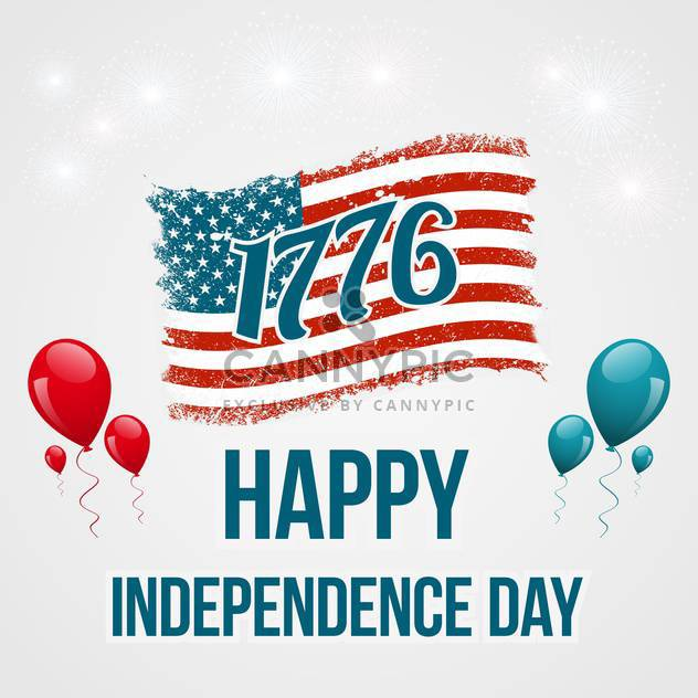 american independence day background - Free vector #134044