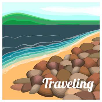 summer holiday vector background - Free vector #134094