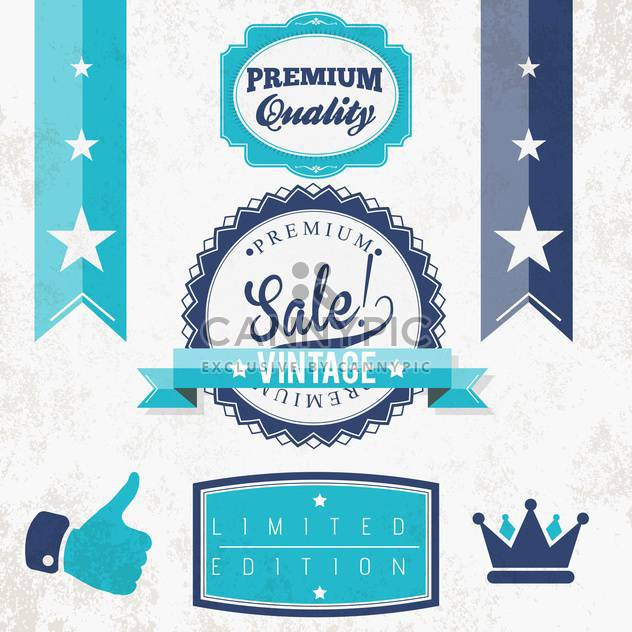 quality vintage vector signs - Free vector #134194