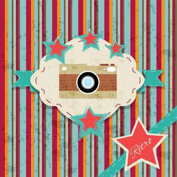 vintage collection photo background - vector gratuit #134234