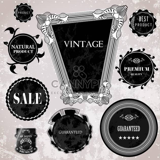 sale high quality labels and signs - Free vector #134494