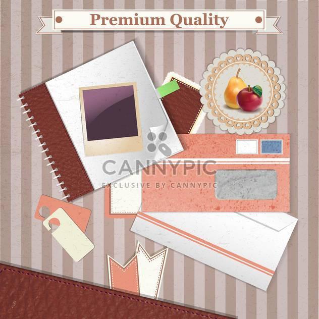 Premium Qualität Jahrgang Hintergrund - Kostenloses vector #134674