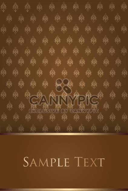 damask seamless floral pattern - Free vector #134894