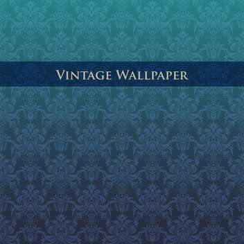 abstract vector vintage wallpaper background - Free vector #134914