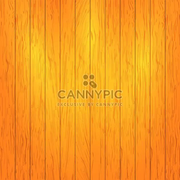 Vector illustration of brown wooden texture background - Free vector #125994