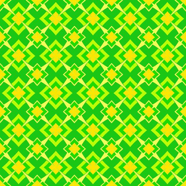 Vector abstract background with green color geometric ornament - бесплатный vector #126084