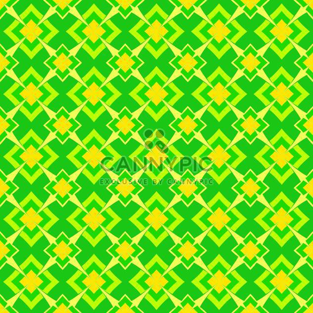 Vector abstract background with green color geometric ornament - Free vector #126084