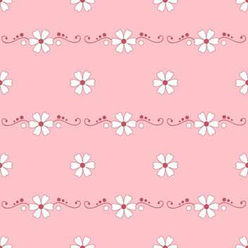 Vector beautiful floral background with text place - vector gratuit #126844