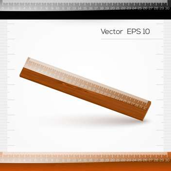 vector illustration of ruler with scale of centimeters on white background - Kostenloses vector #127954