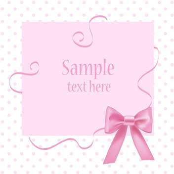 Vector greeting card with place for your text. - Free vector #128454