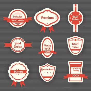 set of vector sale labels - vector gratuit #130354