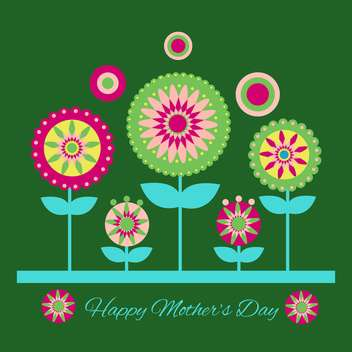 Happy mother day background - vector gratuit #130564