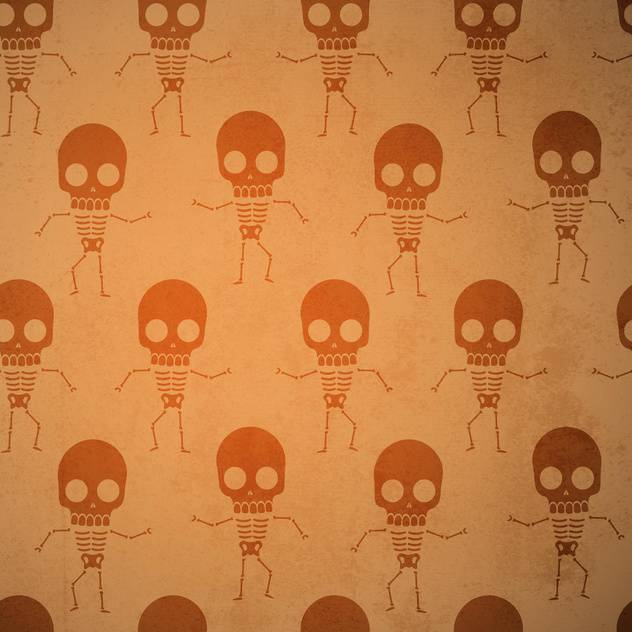 Vector background with skeletons. - vector #131224 gratis