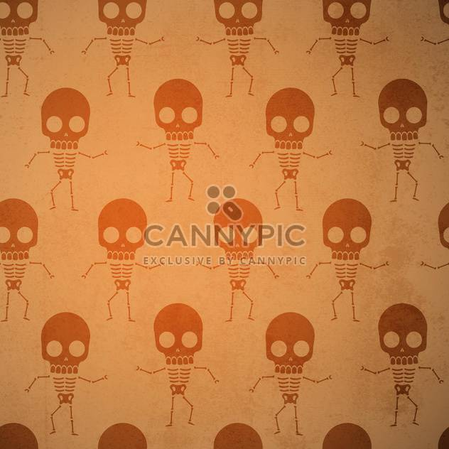 Vector background with skeletons. - Kostenloses vector #131224