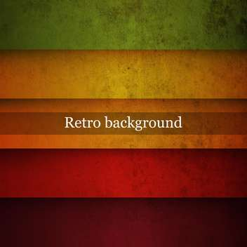Vector vintage striped background - Free vector #131654