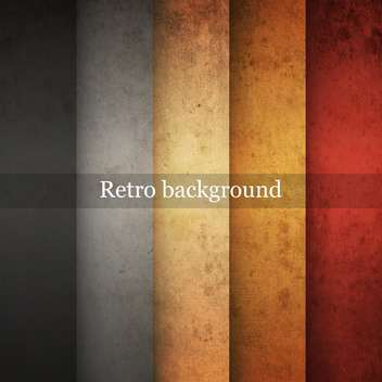 Vector vintage striped grunge background - бесплатный vector #131664