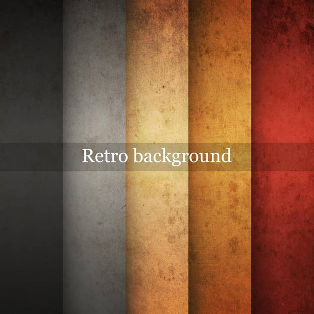 Vector vintage striped grunge background - vector gratuit #131664