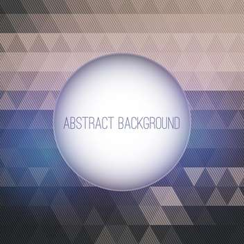 Vector round frame on abstract background - vector #131944 gratis