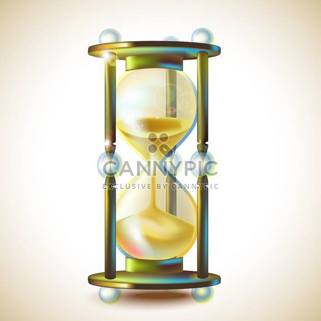 3d beautiful hourglass vector illustration - vector #131964 gratis