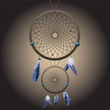 Vector dream catcher illustration - vector gratuit #132134