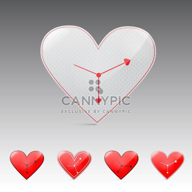 valentine's day time background - бесплатный vector #132924