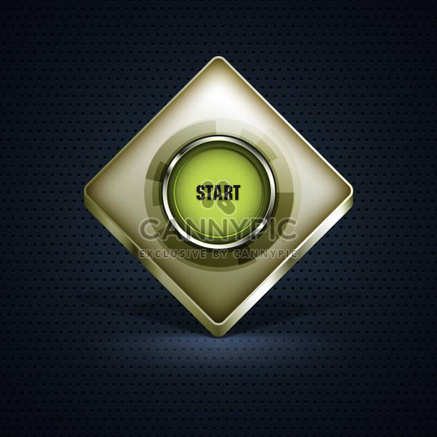 vector start button background - Free vector #132954