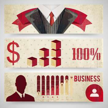 business finance concept icons - vector #133174 gratis