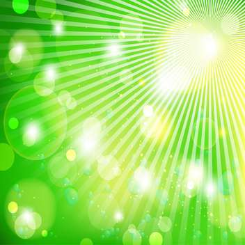 abstract green light background - vector gratuit #133834