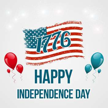 american independence day background - vector gratuit #134044