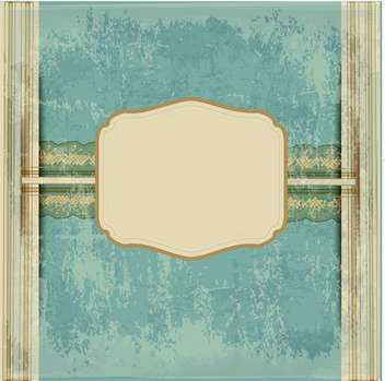 vintage antique frame background - vector gratuit #134074